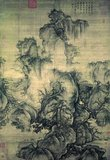 Early Spring is a hanging scroll painting by the artist Guo Xi. Completed in 1072 CE, it is one of the most famous works of Chinese art from the Song Dynasty period.<br/><br/>  The work demonstrates his innovative techniques for producing multiple perspectives which he called 'the angle of totality'.<br/><br/>  The poem in the upper right corner was added in 1759 by Emperor Qianlong. It reads:<br/><br/>  Chinese: 樹纔發葉溪開凍 / 樓閣仙居最上層 / 不藉柳桃閒點綴 / 春山早見氣如蒸<br/><br/>  Pinyin: shù cái fā yè xī kāidòng /  lóugé xiānjū zuì shàngcéng / bù jiè liǔ táo jiàn diǎnzhuì / chūnshān zǎo jiàn qì rú zhēng<br/><br/><i>The trees are just beginning to sprout leaves; the frozen brook begins to melt</i><br/><i>A building is placed on the highest ground, where the immortals reside</i><br/><i>There is nothing between the willow and peach trees to clutter up the scene</i><br/><i>Steam-like mist can be seen early in the morning on the springtime mountain.</i>